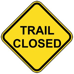 Lowes Creek Single Track Trails Closed