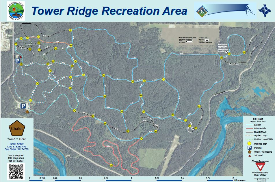 Tower Ridge Ski Trails Eau Claire County