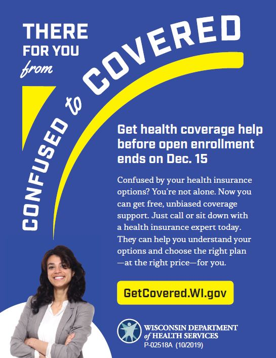 Health Insurance Open Enrollment (Nov. 1 - Dec. 15)